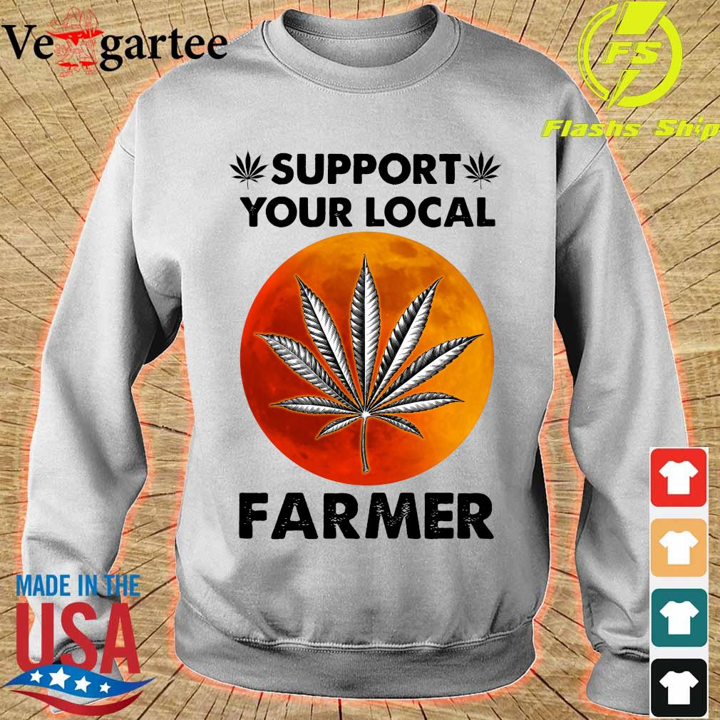 Support Your local farmer s sweater