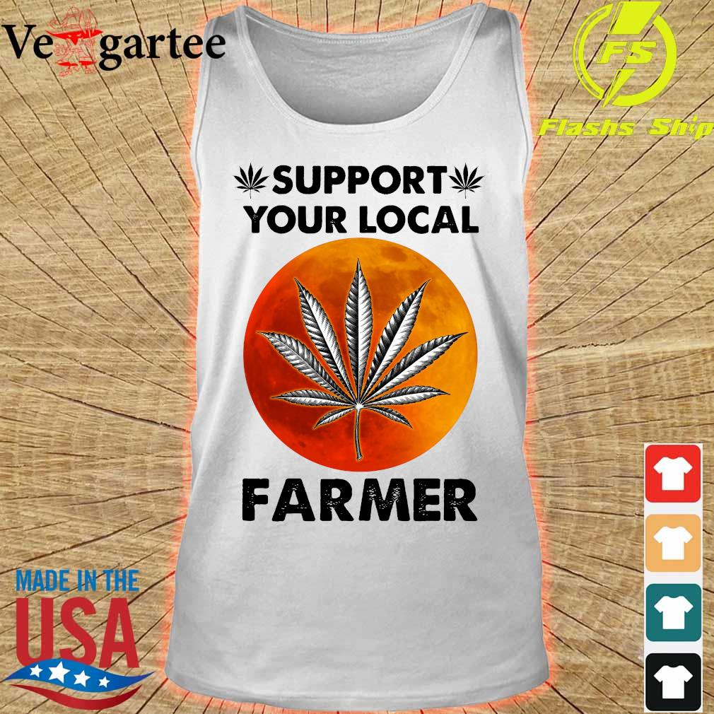 Support Your local farmer s tank top