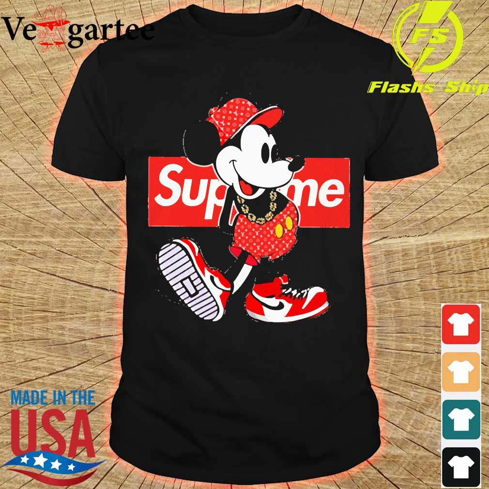 Supreme x Mickey Mouse Youth shirt