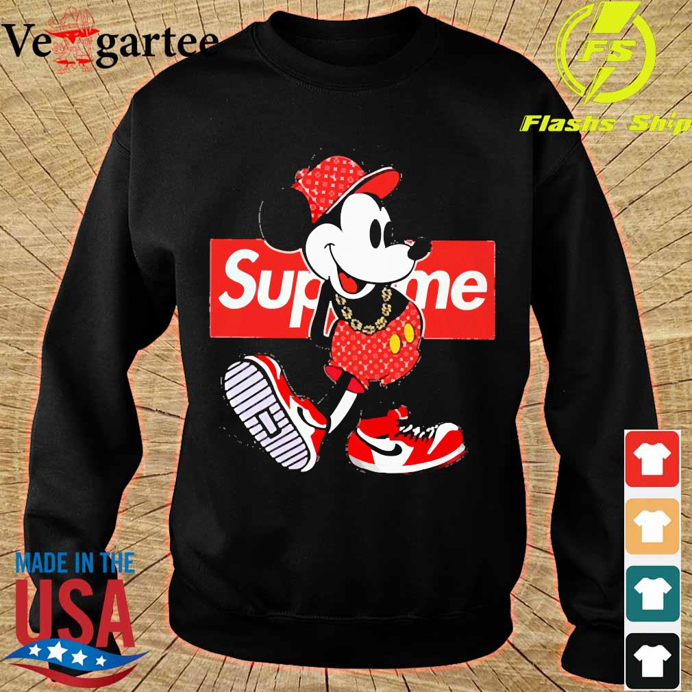 Supreme x Mickey Mouse Youth s sweater