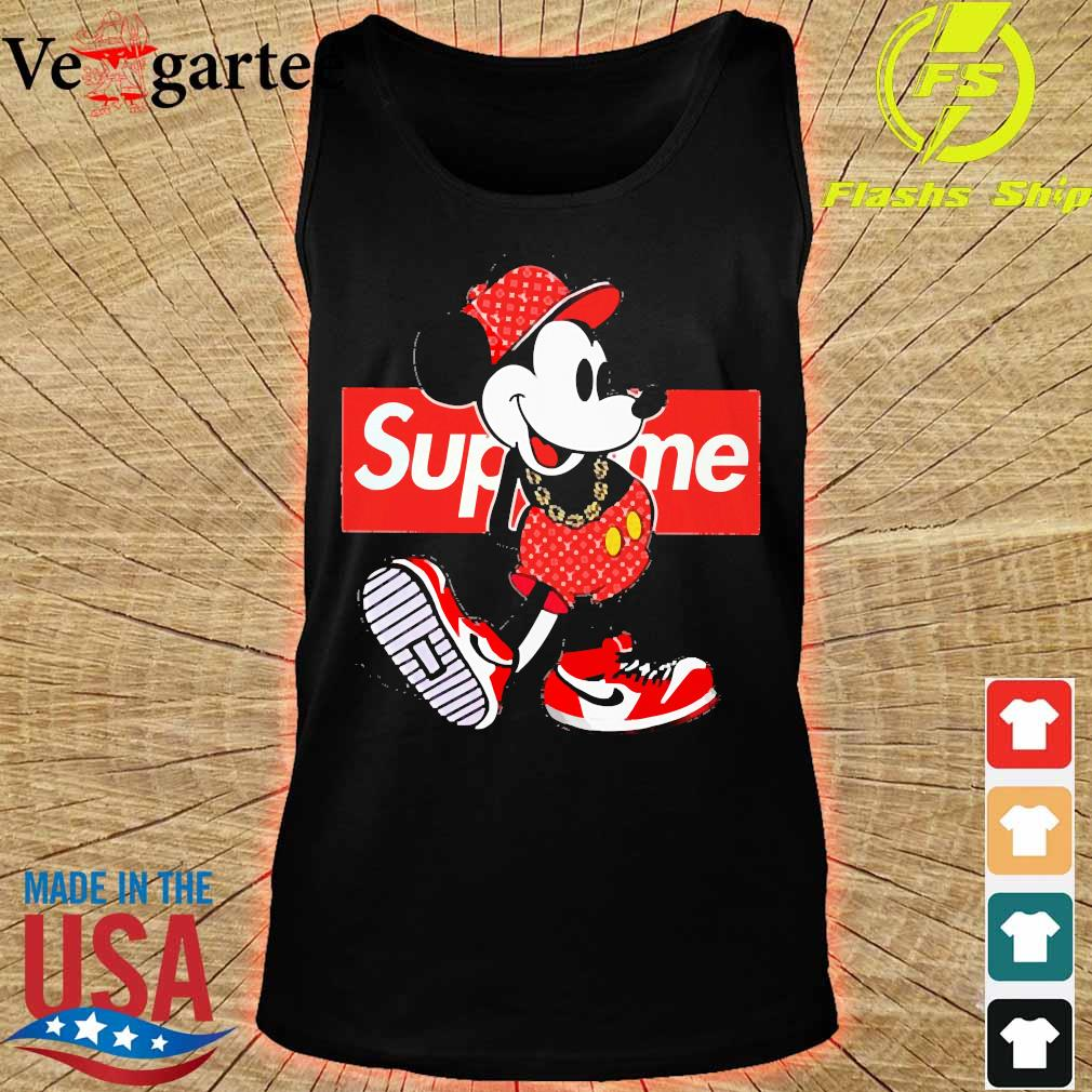 Supreme x Mickey Mouse Youth s tank top