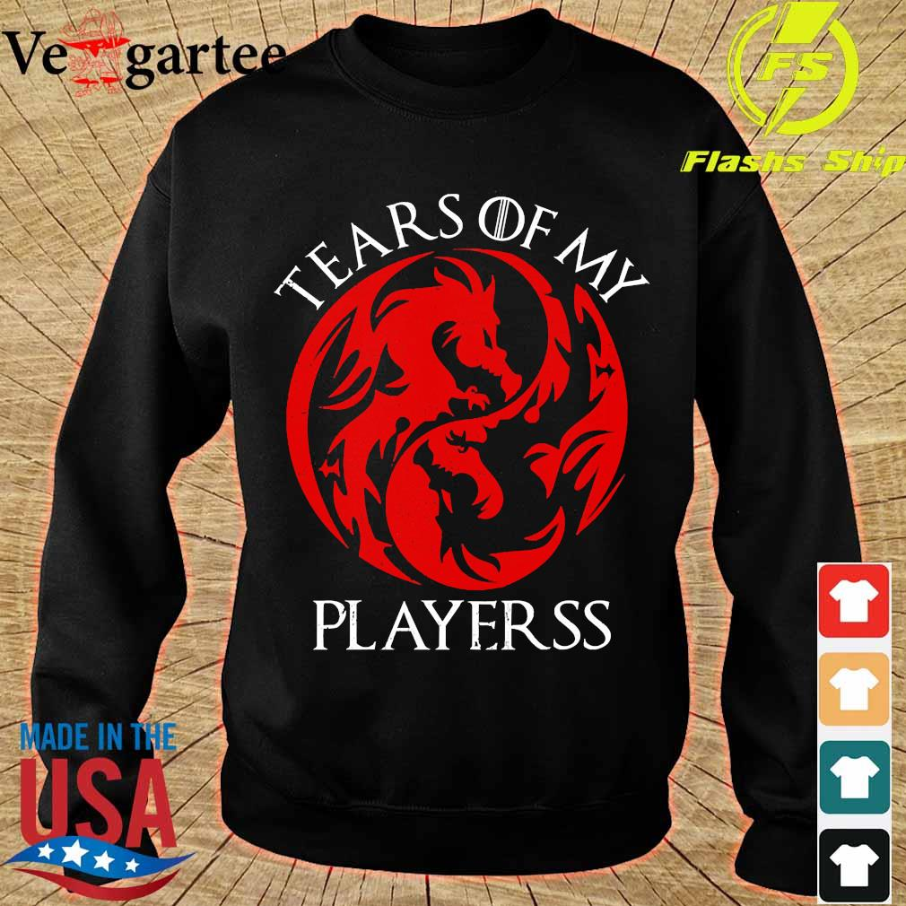 Tears of my playerss s sweater