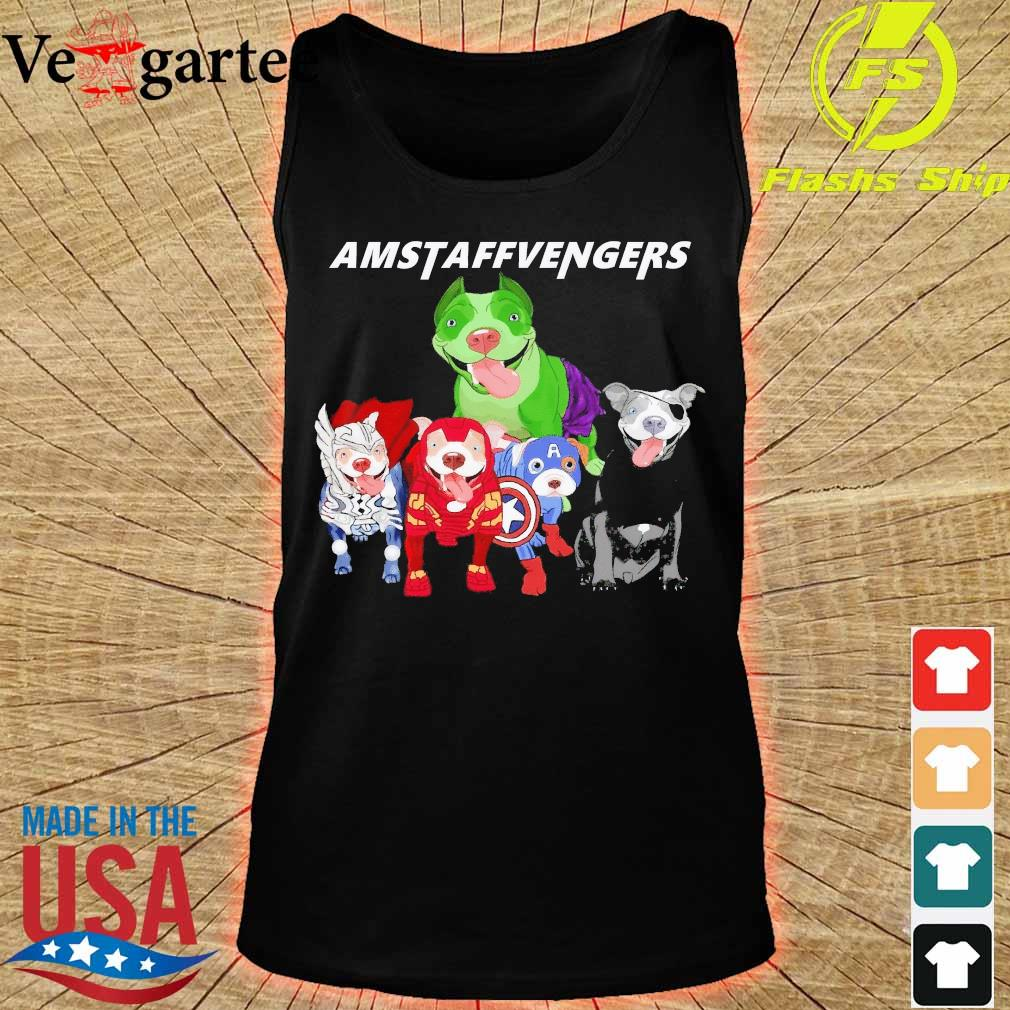 The Avengers Amstaffvengers s tank top