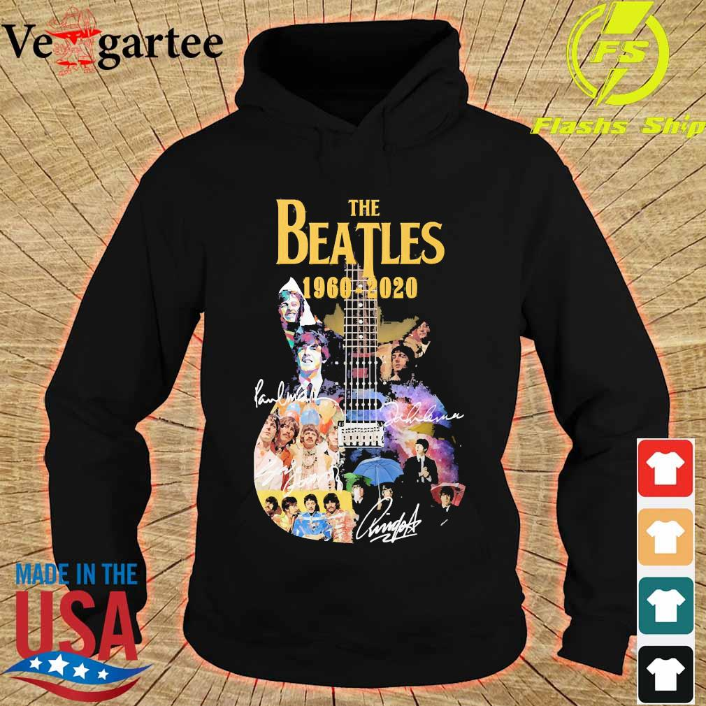 The Beatle Guitar 1960 2020 signatures s hoodie
