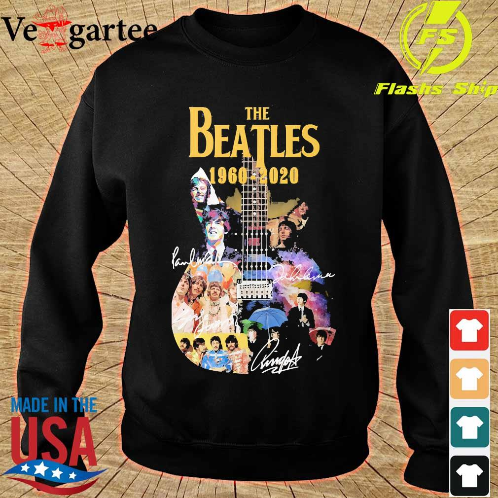 The Beatle Guitar 1960 2020 signatures s sweater