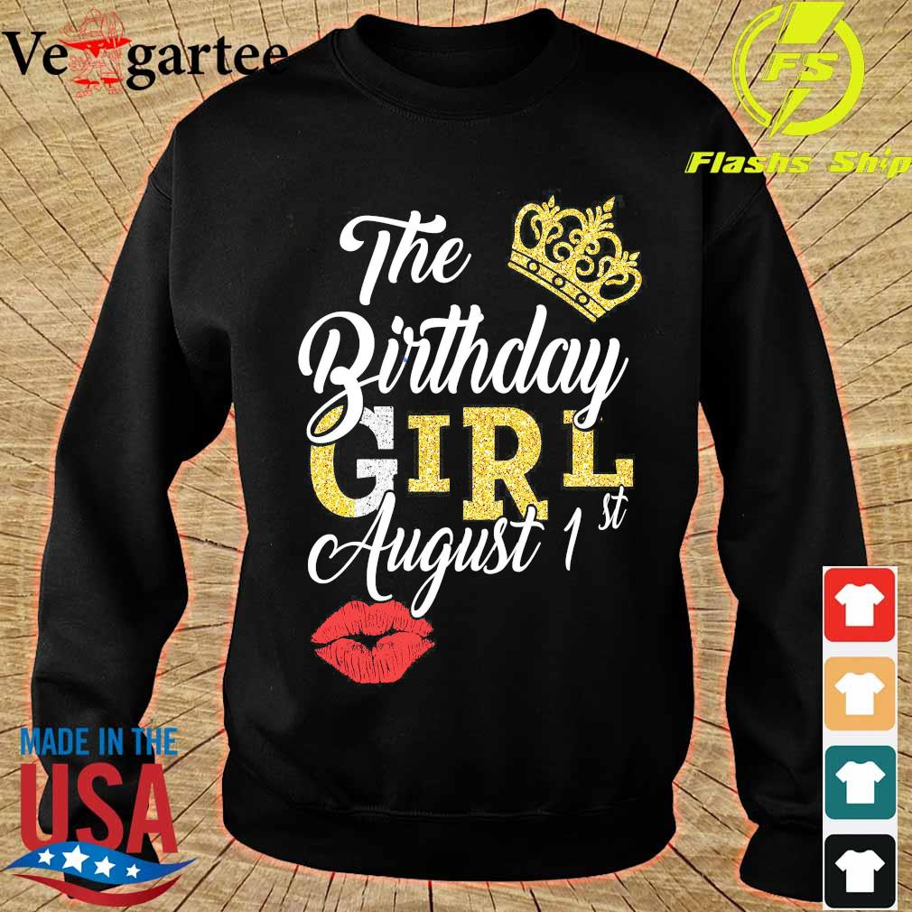 The Birthday girl august 1st s sweater