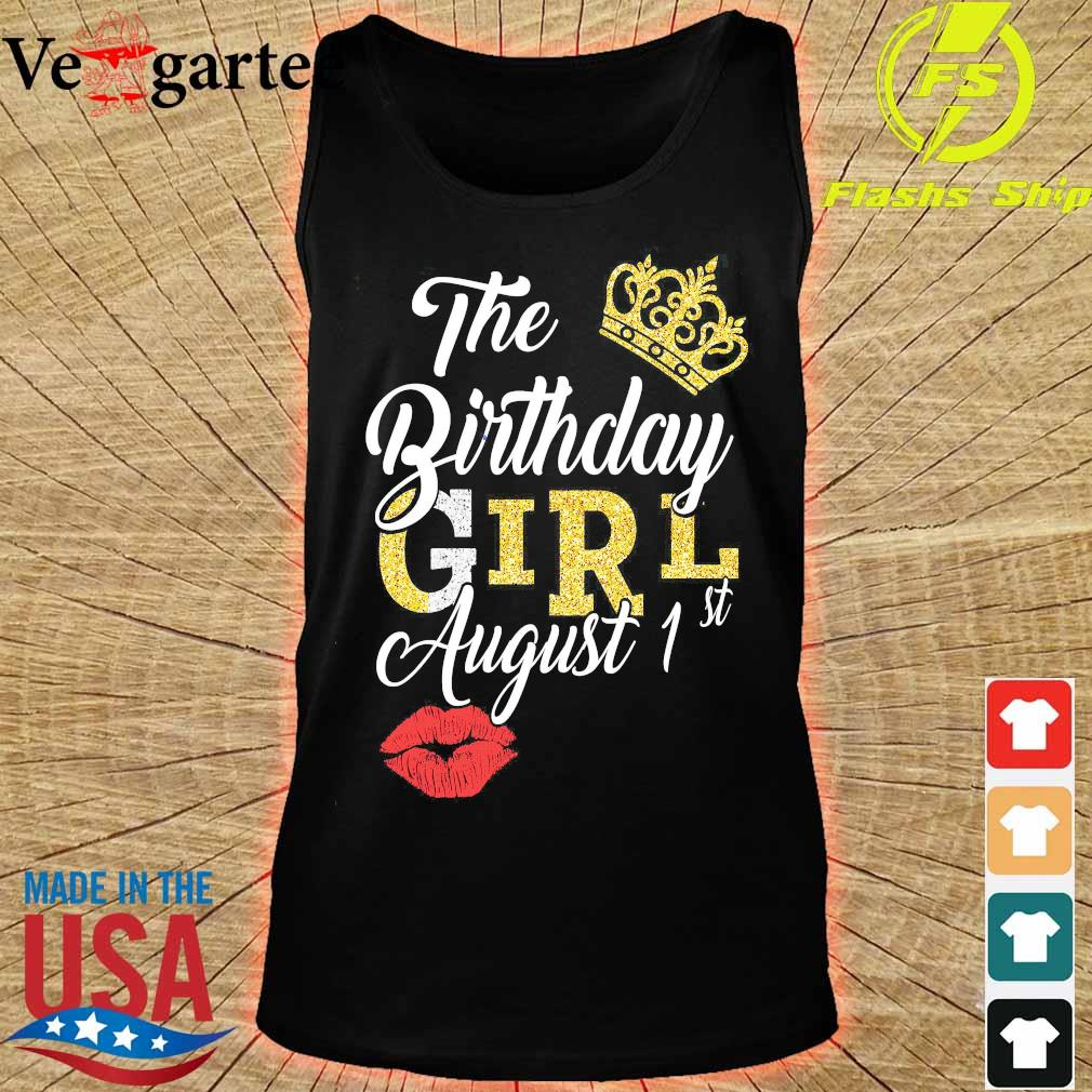 The Birthday girl august 1st s tank top