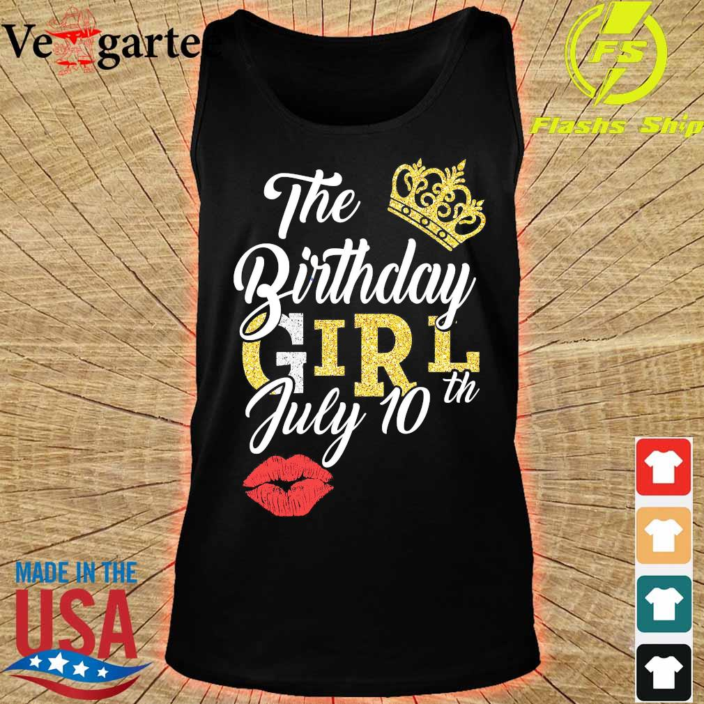 The Birthday girl july 10th s tank top