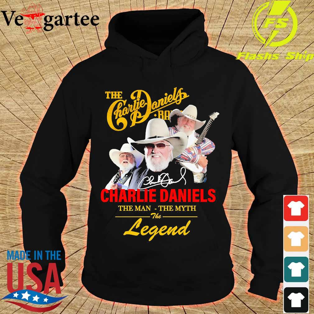The Charlie Daniels band the man the myth the legend signature s hoodie