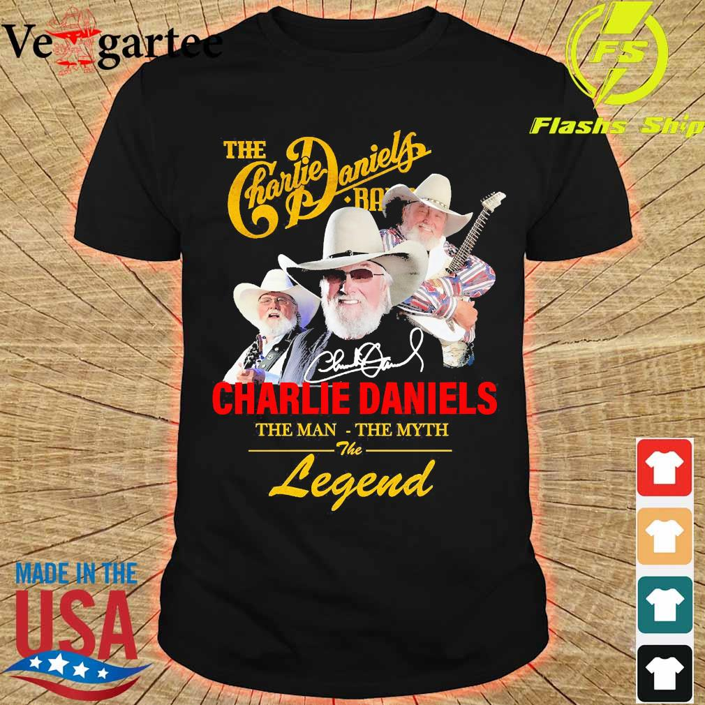 The Charlie Daniels band the man the myth the legend signature shirt