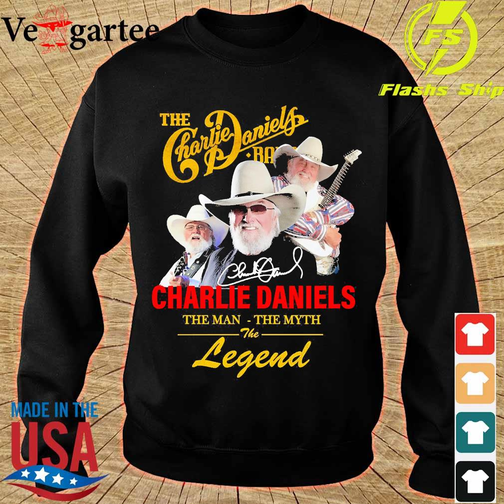 The Charlie Daniels band the man the myth the legend signature s sweater