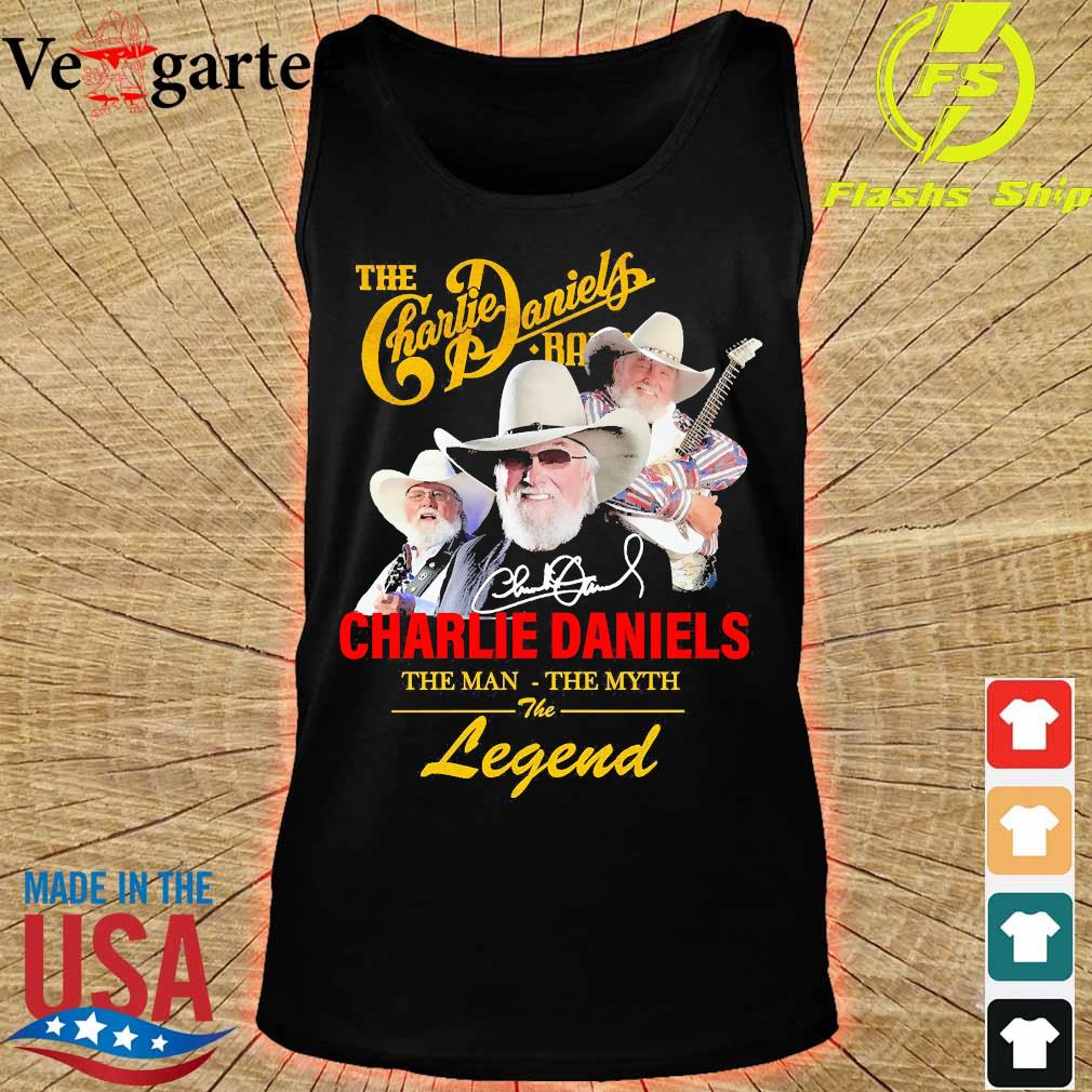 The Charlie Daniels band the man the myth the legend signature s tank top