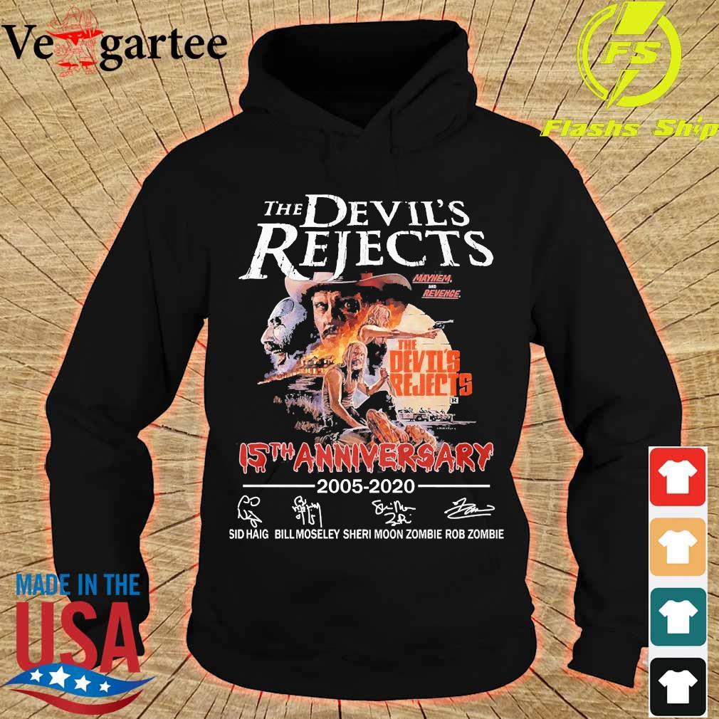 The devil's Rejects 15th anniversary 2005 2020 signatures s hoodie