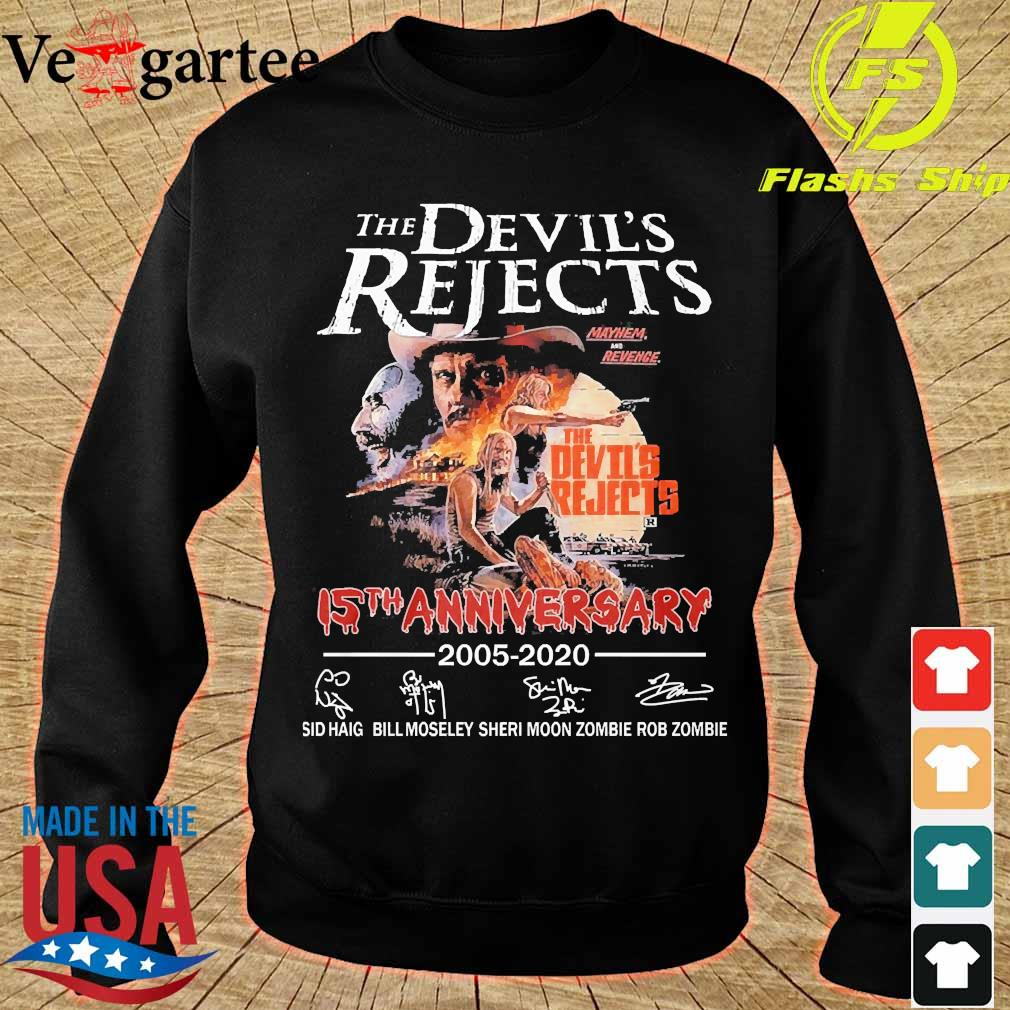 The devil's Rejects 15th anniversary 2005 2020 signatures s sweater