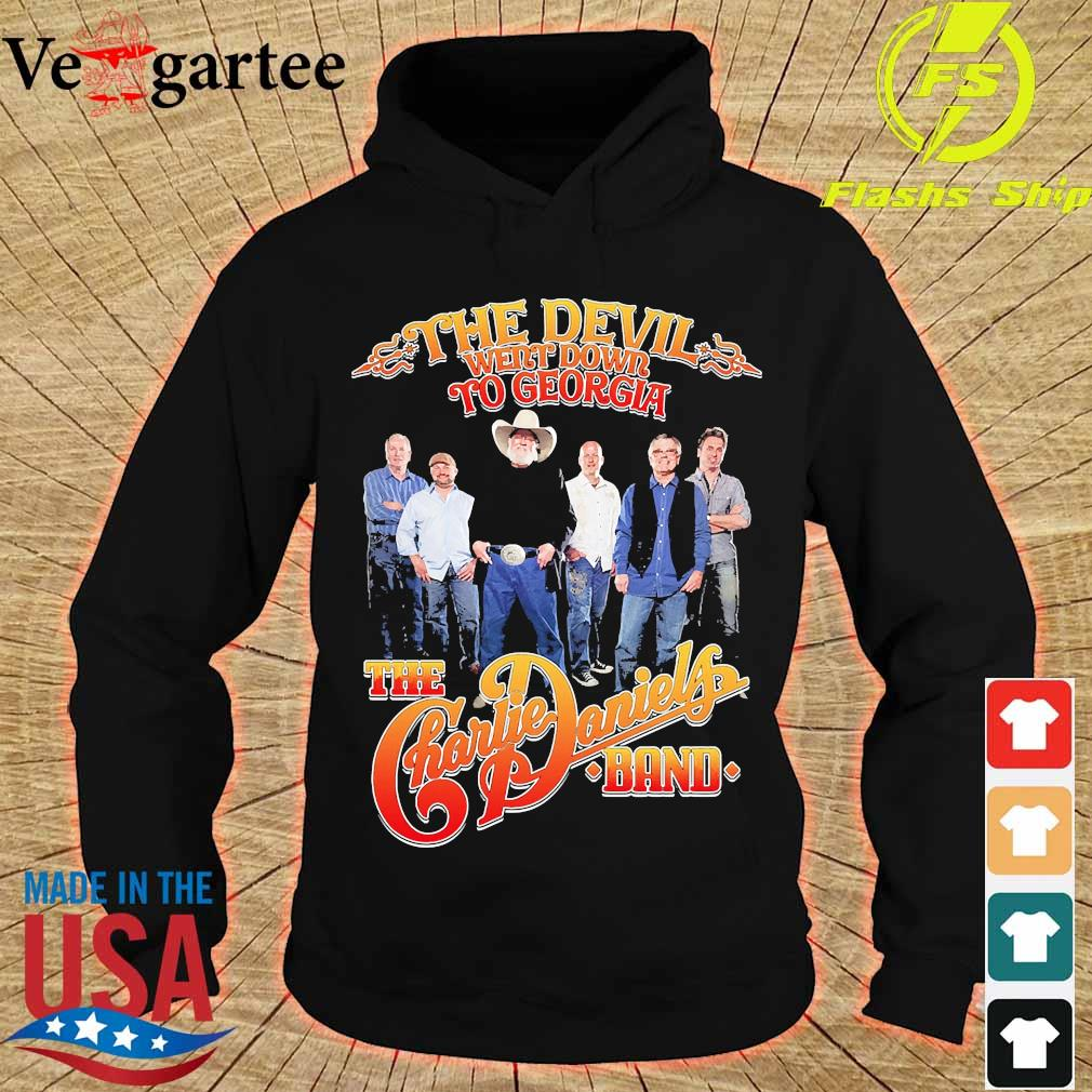 The Devil Went down to georgia the Charlie Daniels band s hoodie
