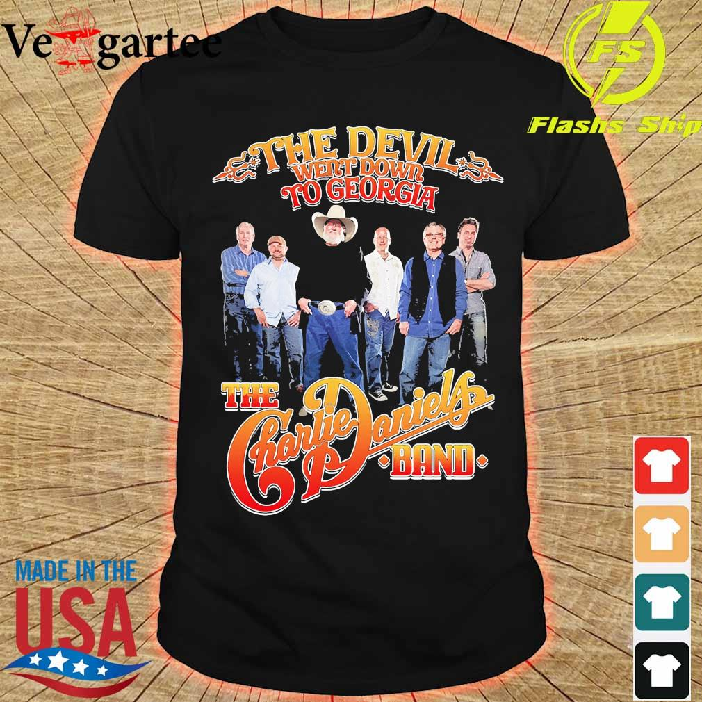 The Devil Went down to georgia the Charlie Daniels band shirt