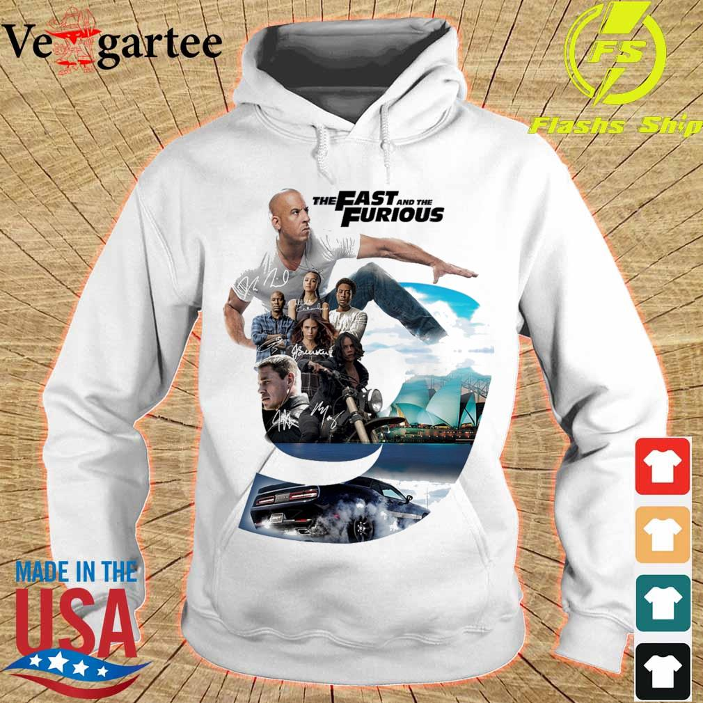 The Fast and the furious 9 Character signatures s hoodie