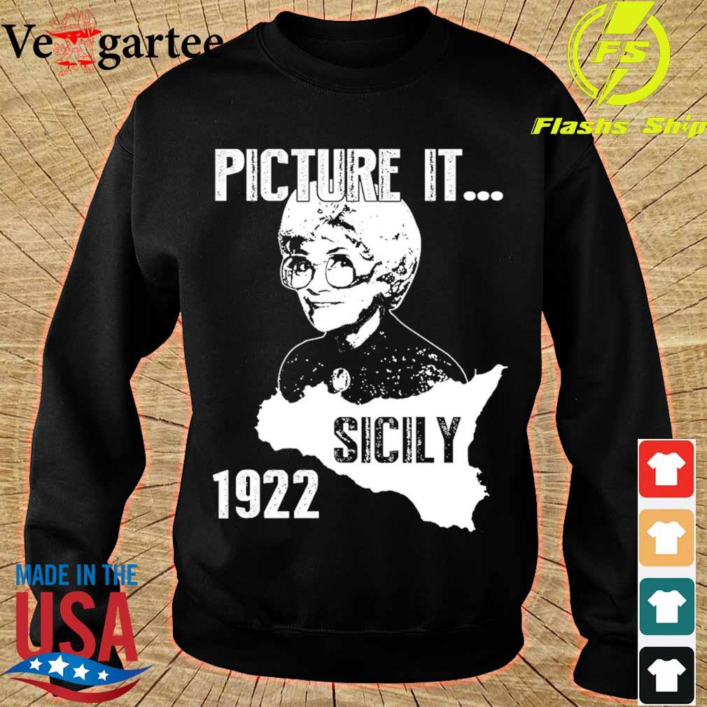 The Golden girl Picture it sicily 1922 s sweater