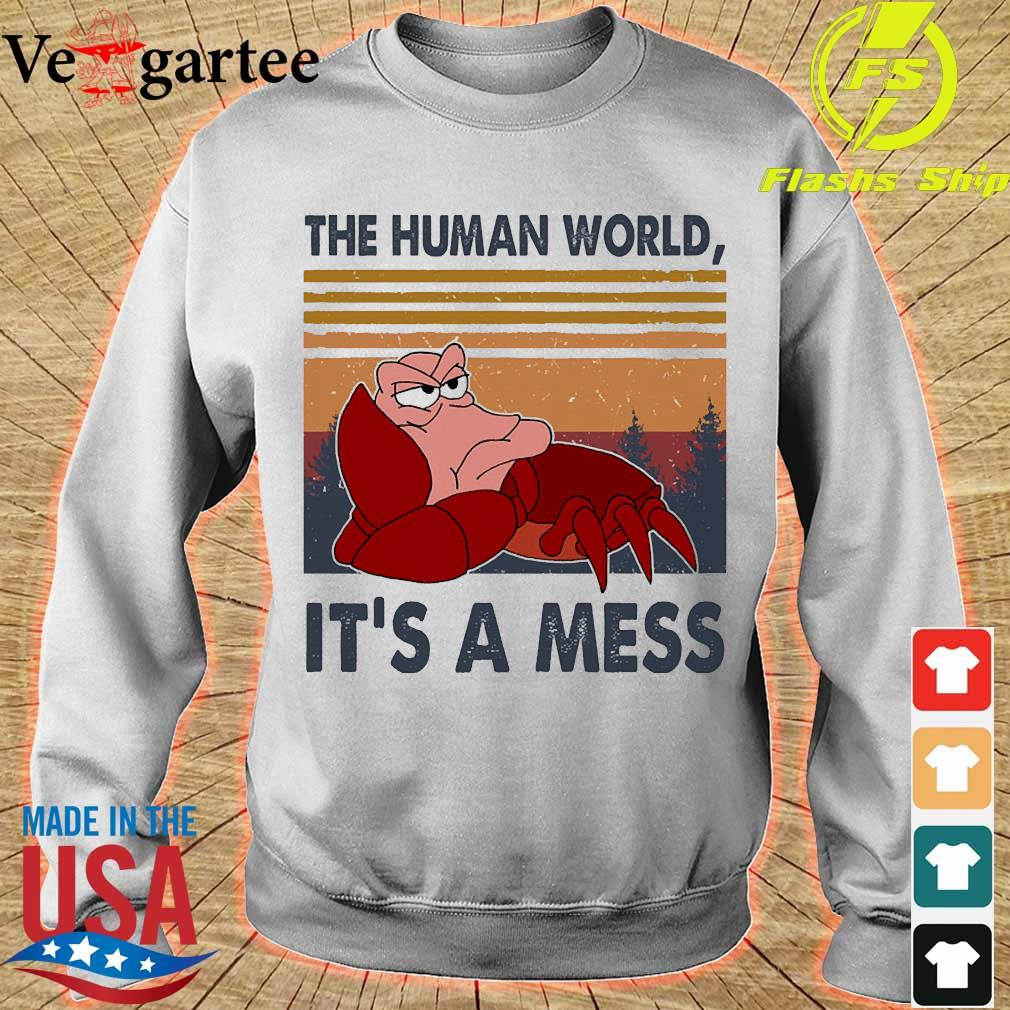 The human world It's a mess vintage s sweater