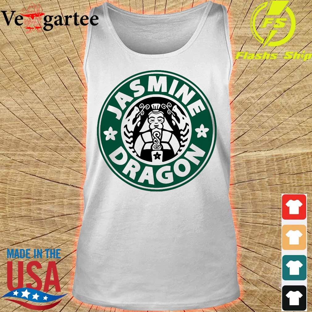 The Jasmine Dragon Ladies Fitted s tank top
