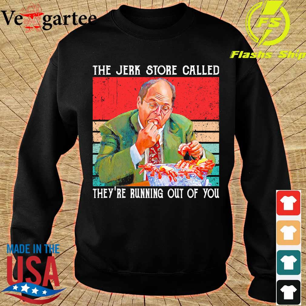 The Jerk store called They're running out of You vintage s sweater