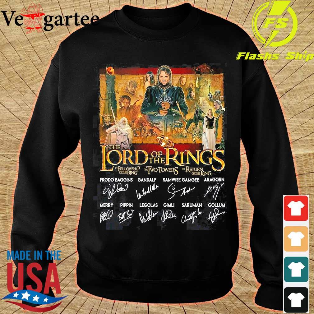 The lord of the rings signatures s sweater