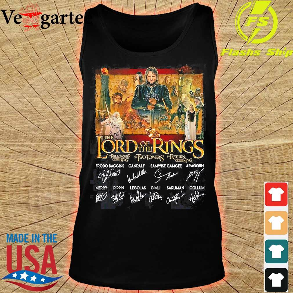 The lord of the rings signatures s tank top