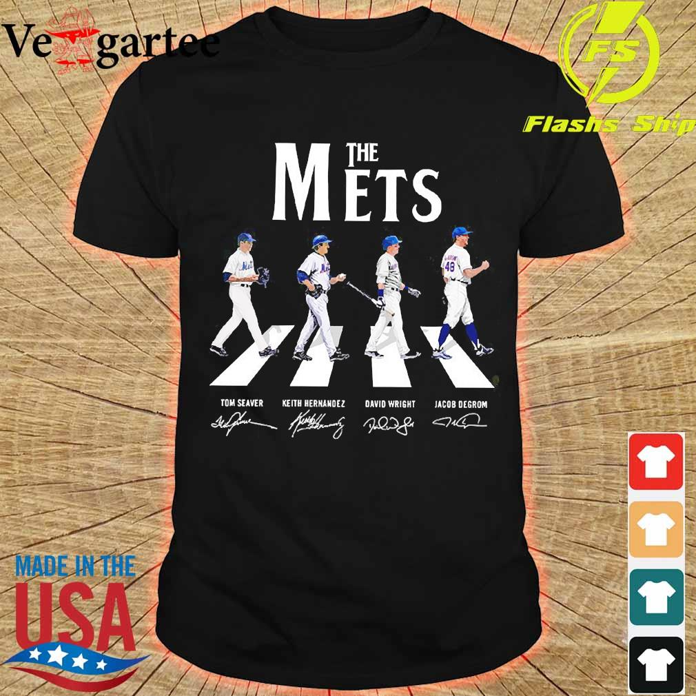 The Mets abbey road signatures shirt