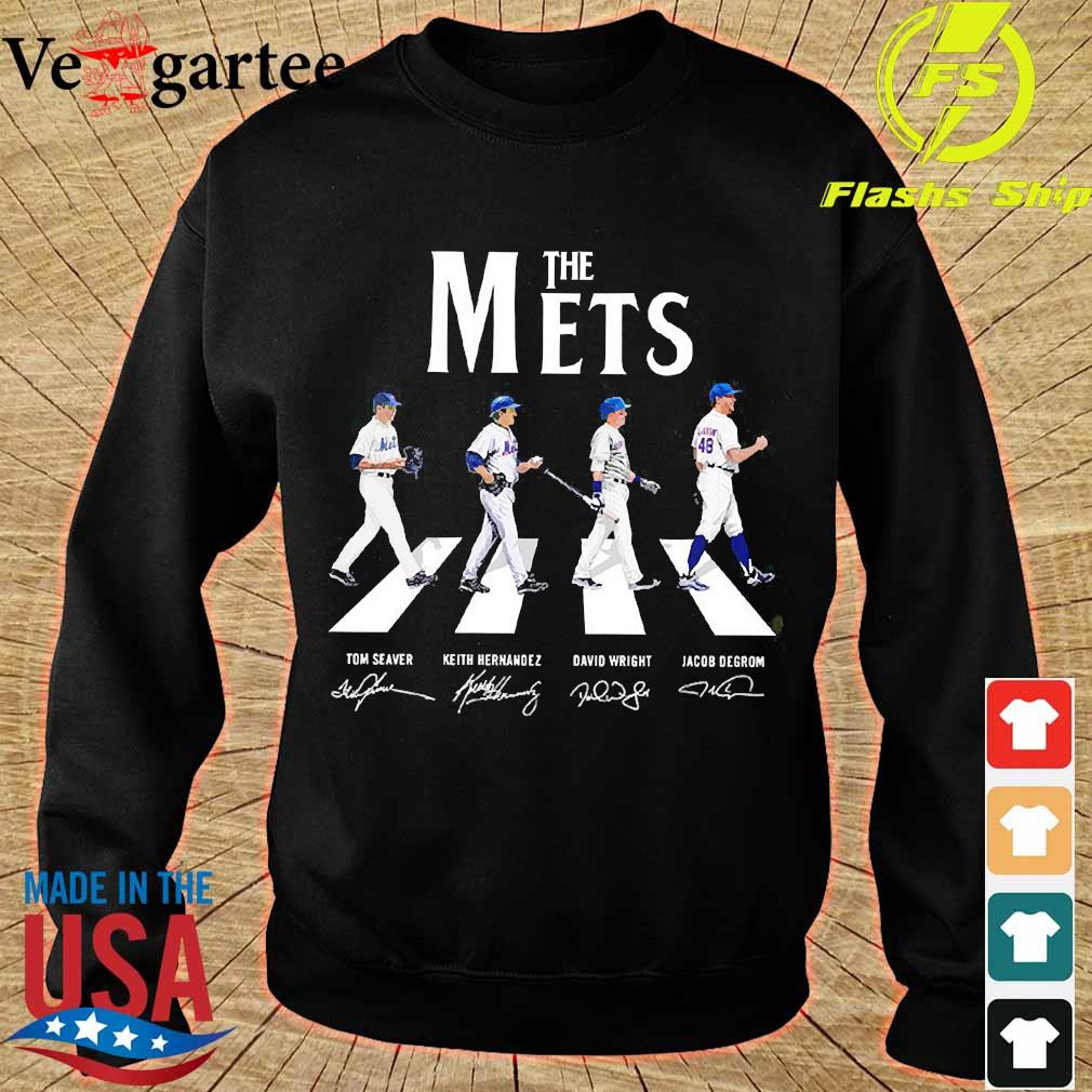 The Mets abbey road signatures s sweater