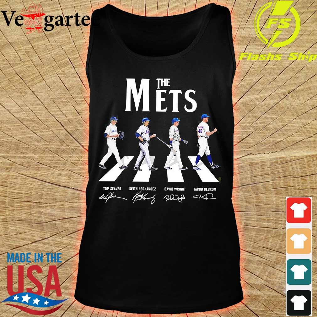 The Mets abbey road signatures s tank top