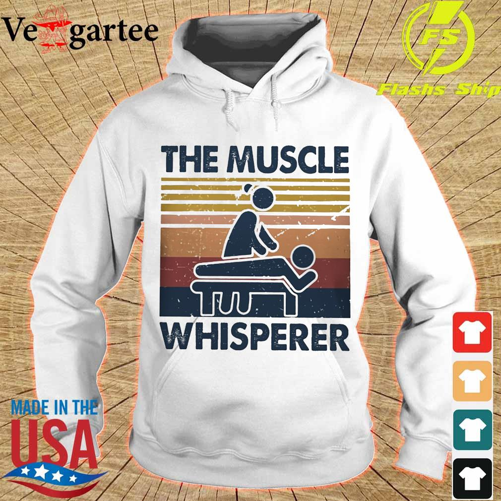 The muscle whisperer vintage s hoodie