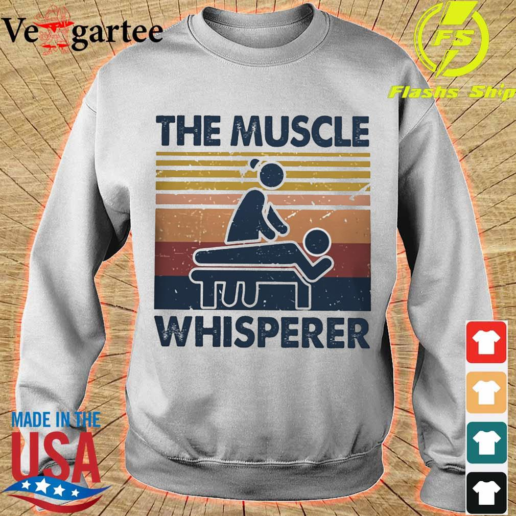 The muscle whisperer vintage s sweater