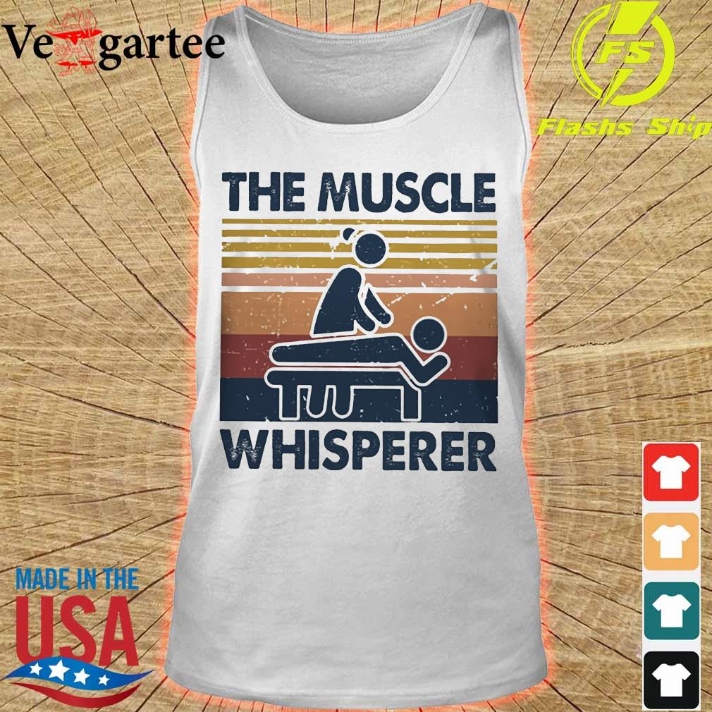 The muscle whisperer vintage s tank top