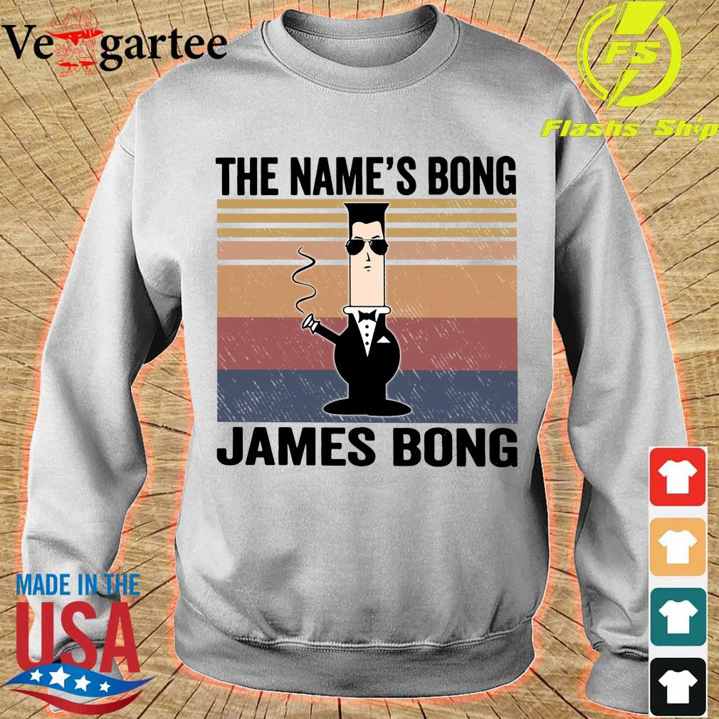 The name's Bong James Bong vintage s sweater