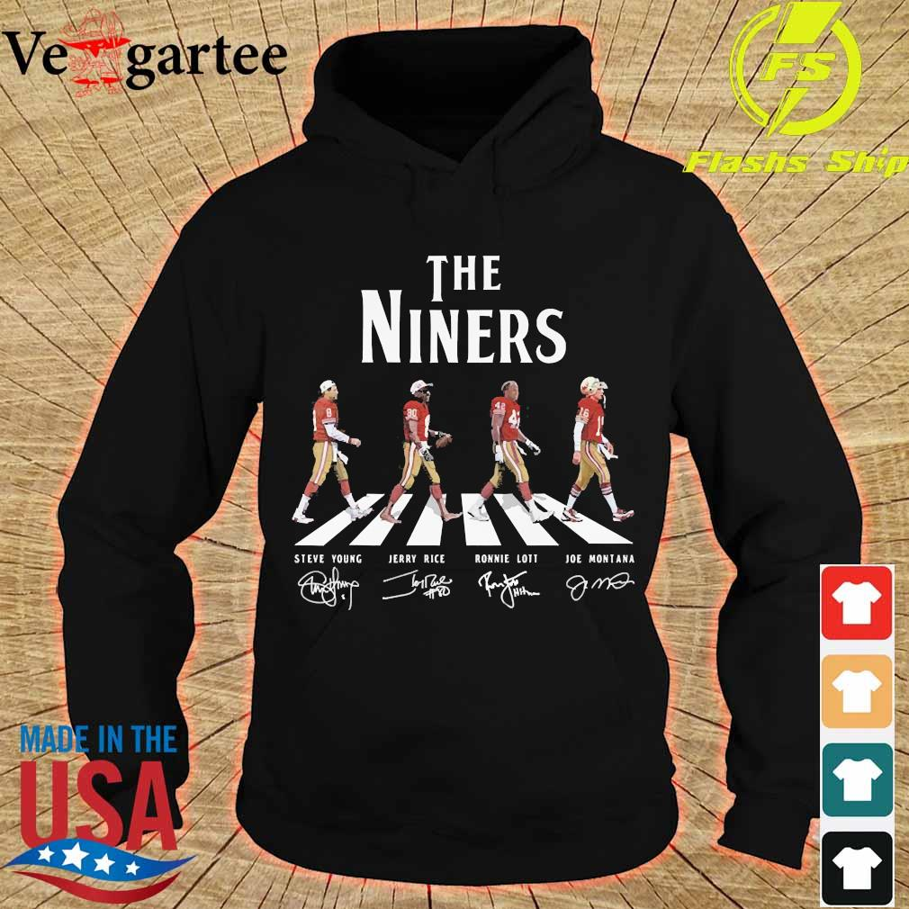 The Niners abbey road signatures shier hoodie
