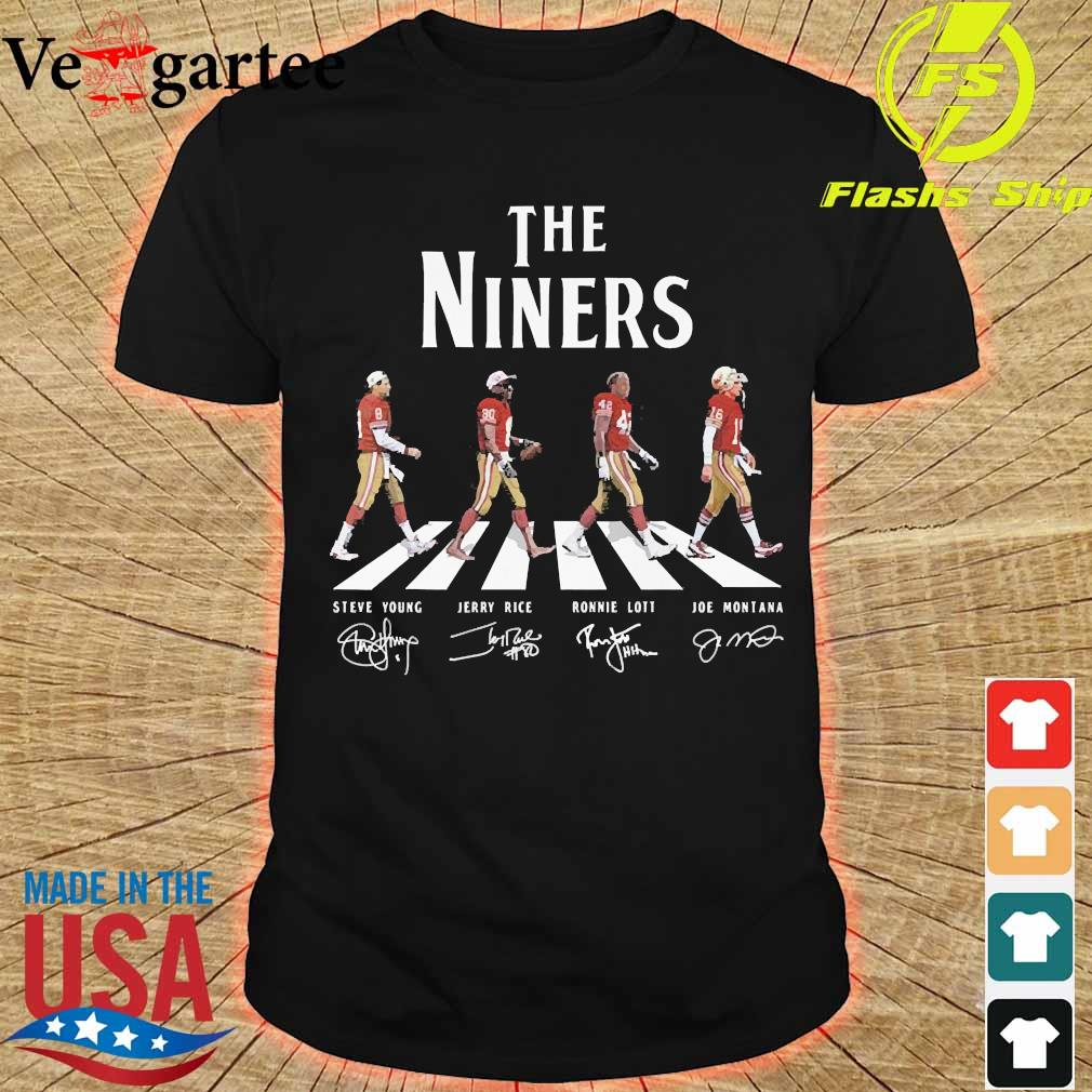 The Niners abbey road signatures shier