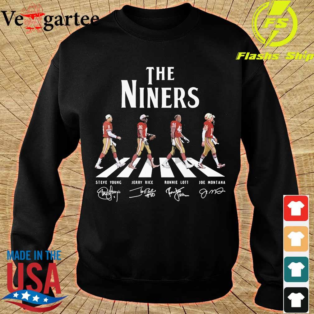 The Niners abbey road signatures shier sweater