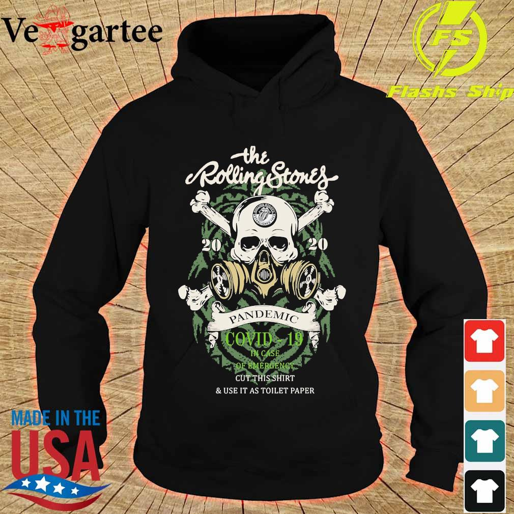 The Rolling Stones 2020 pandemic covid 19 in case of emergency s hoodie