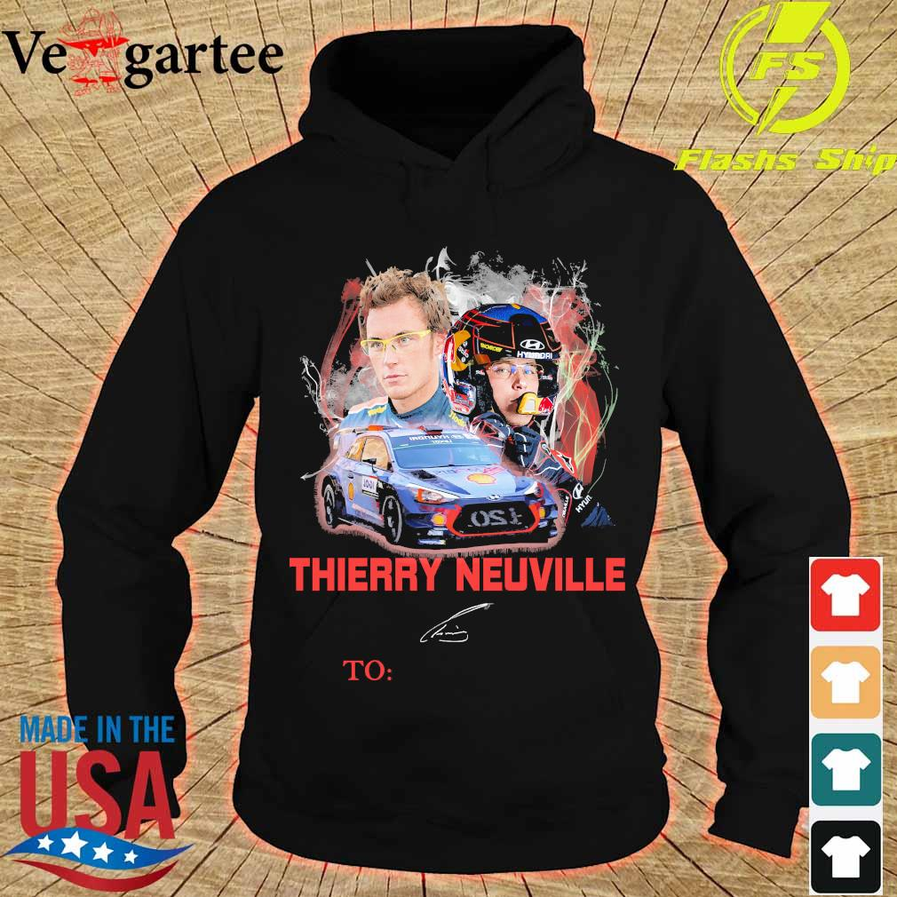 Thierry Neuville signature s hoodie