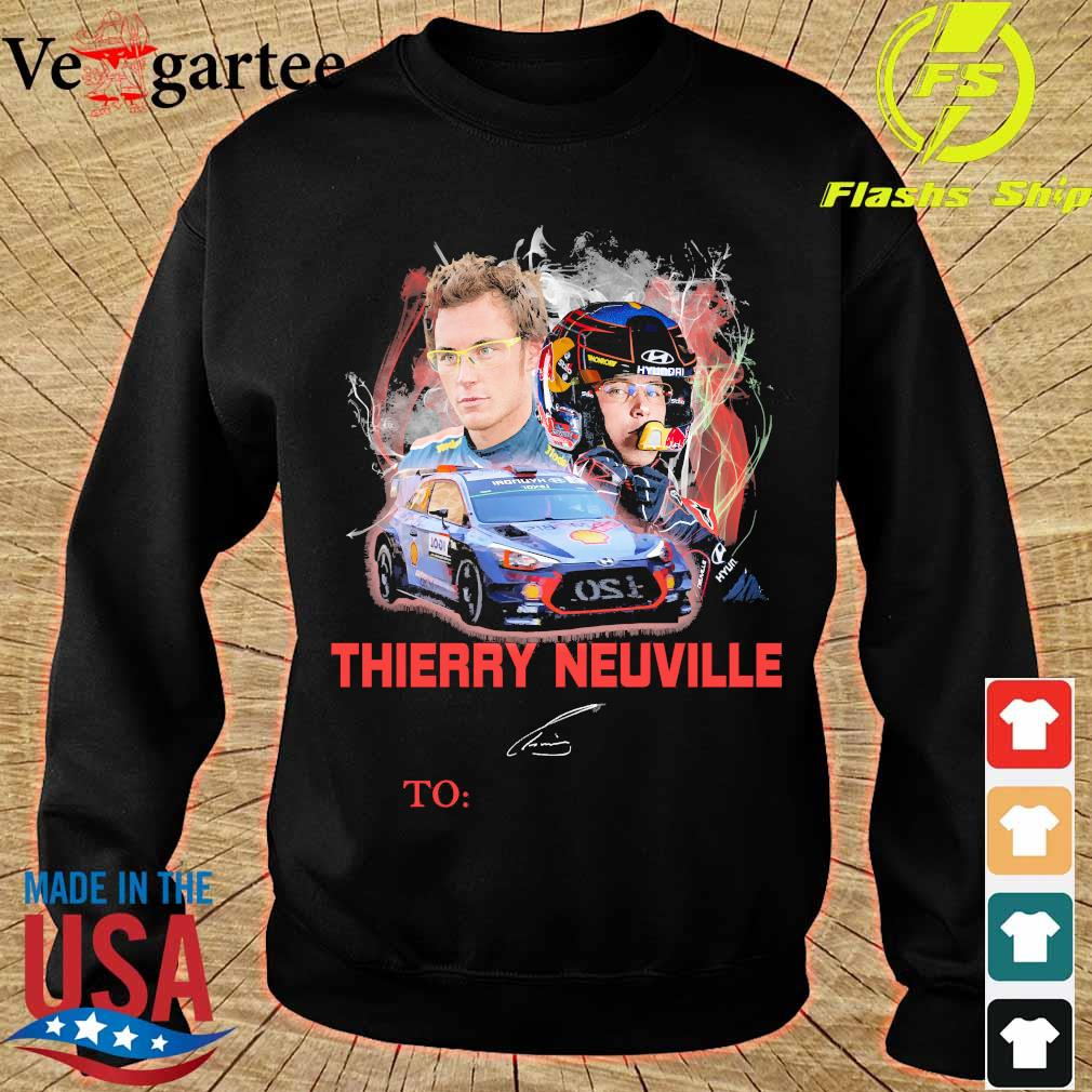 Thierry Neuville signature s sweater