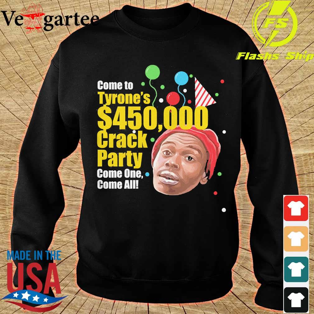 Tyrone Biggums $450,000 Crack Party s sweater
