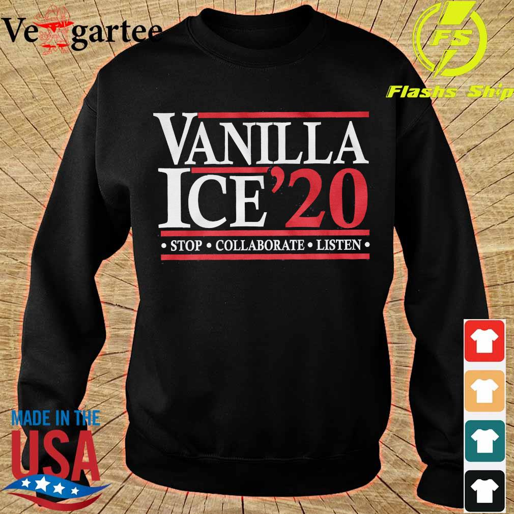 Vanilla Ice'20 stop collaborate listen s sweater