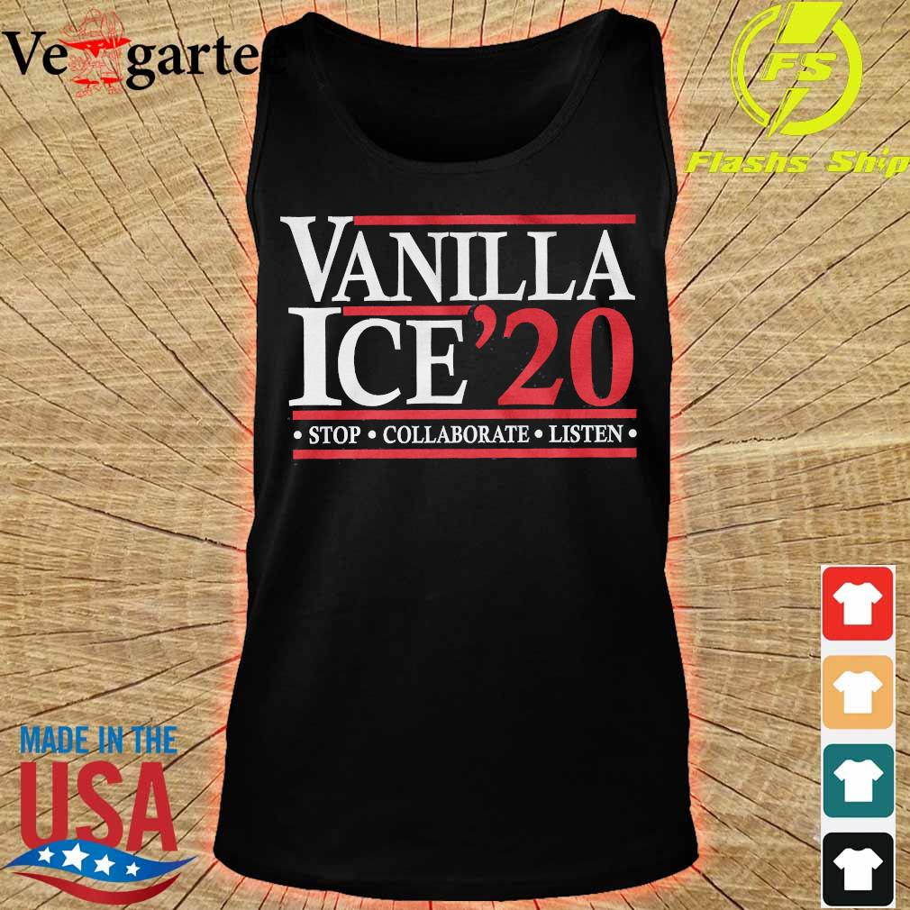 Vanilla Ice'20 stop collaborate listen s tank top