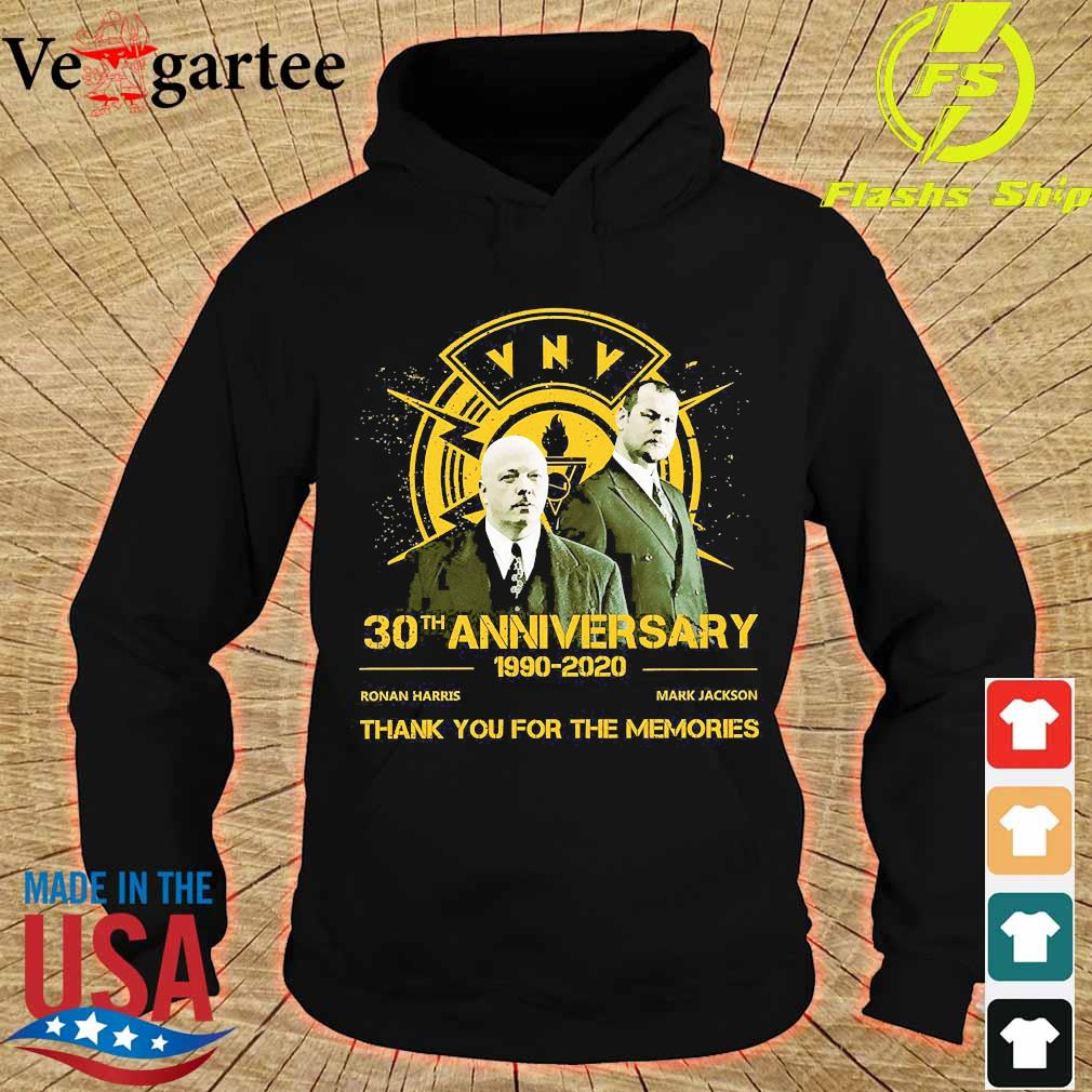 VNV 30th anniversary 1990 2020 thank You for the memories s hoodie