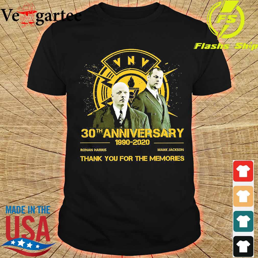 VNV 30th anniversary 1990 2020 thank You for the memories shirt