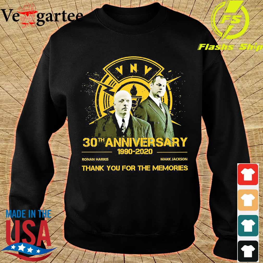 VNV 30th anniversary 1990 2020 thank You for the memories s sweater