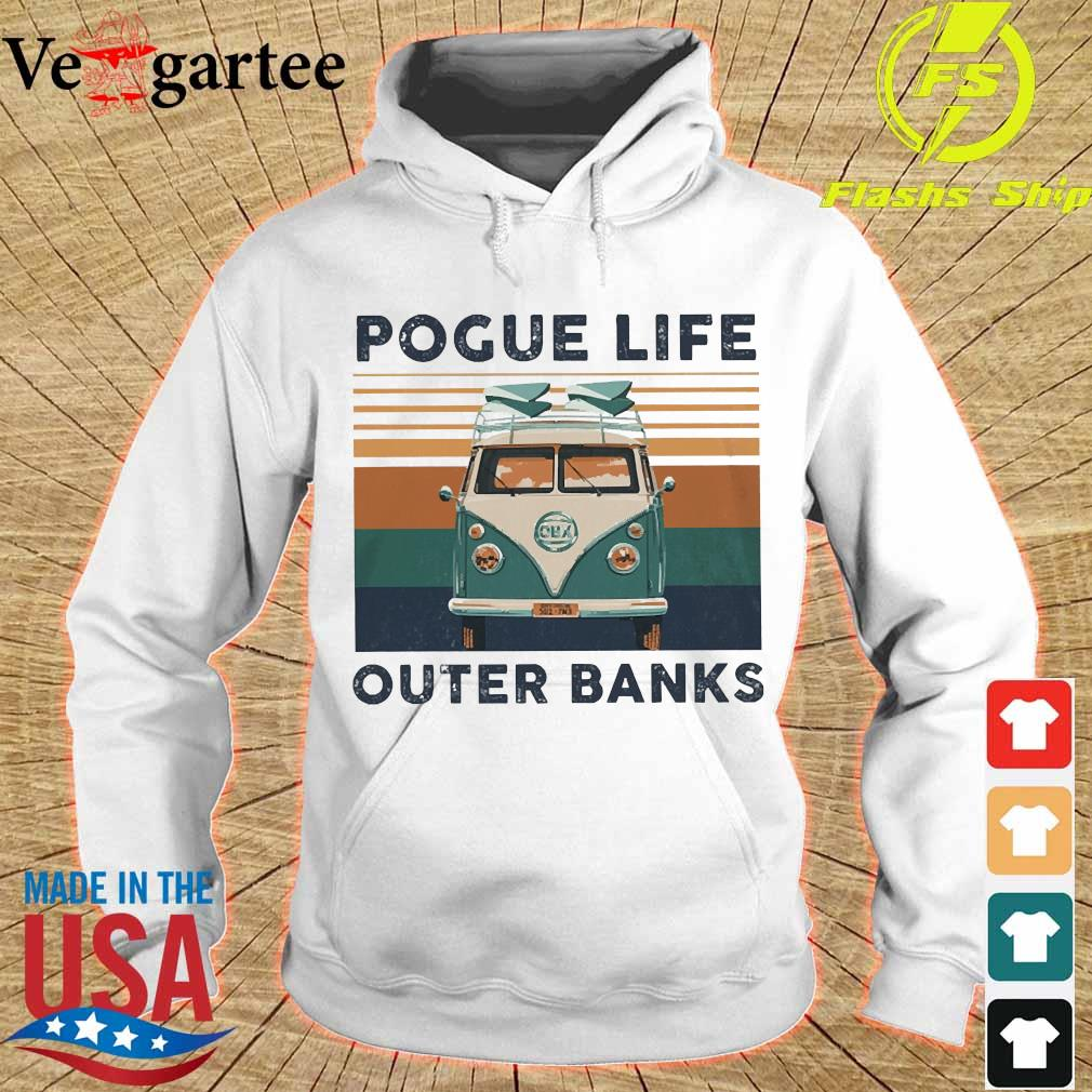 Volkswagen Pogue life outer banks vintage s hoodie
