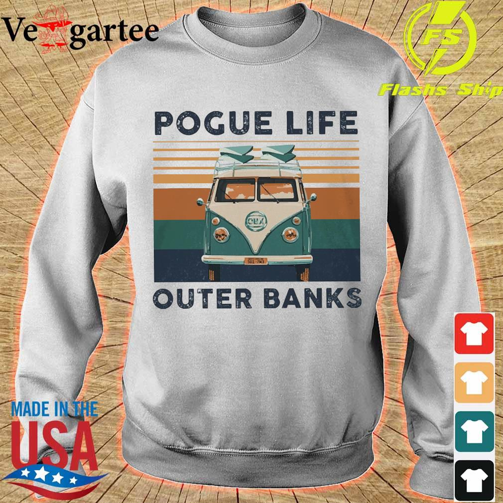 Volkswagen Pogue life outer banks vintage s sweater