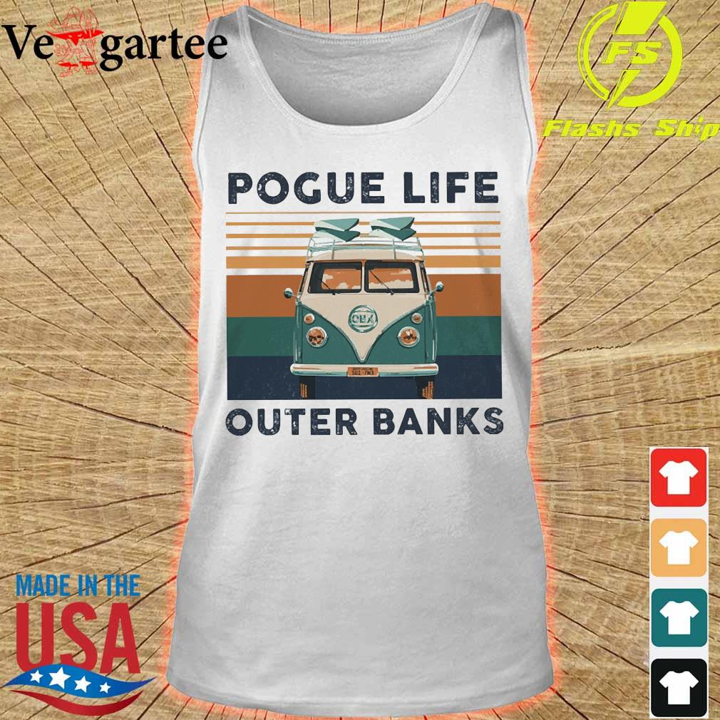 Volkswagen Pogue life outer banks vintage s tank top