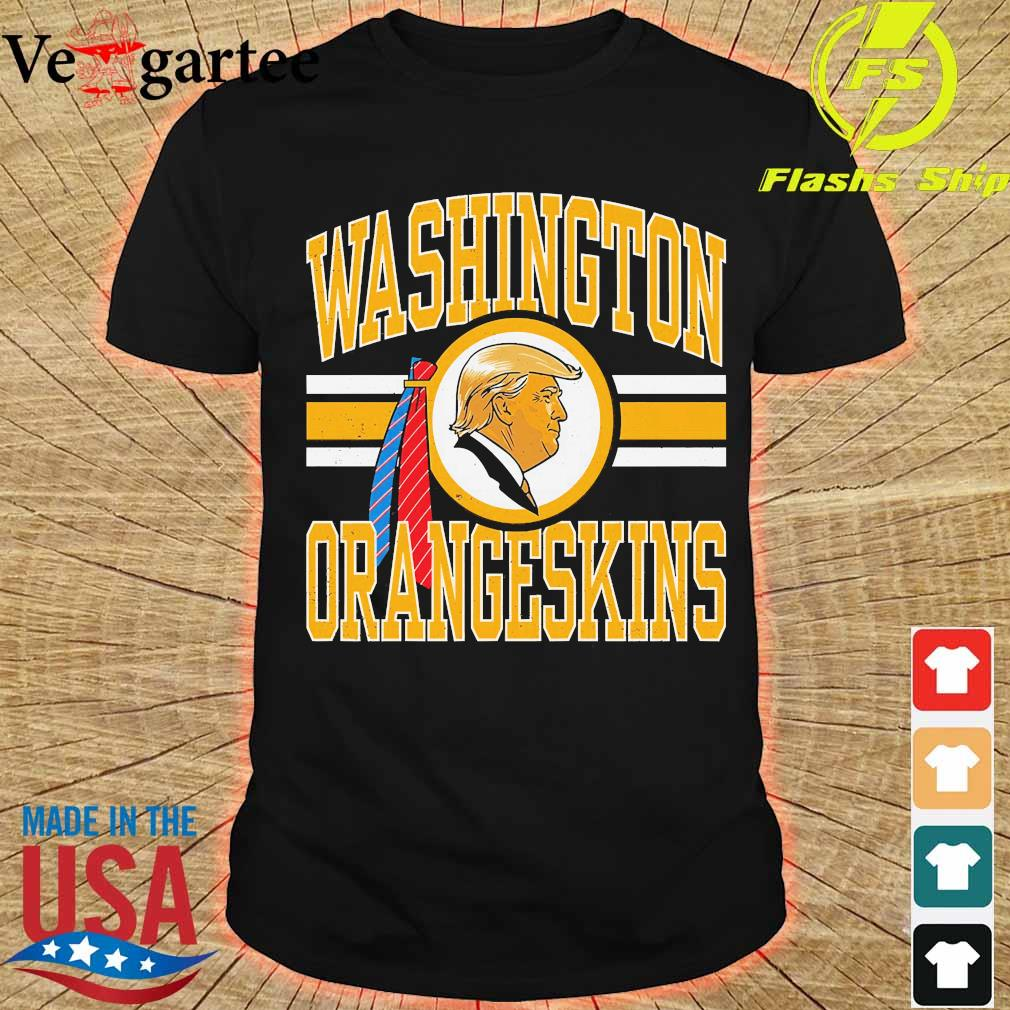 Washington orangeskins Donald Trump shirt